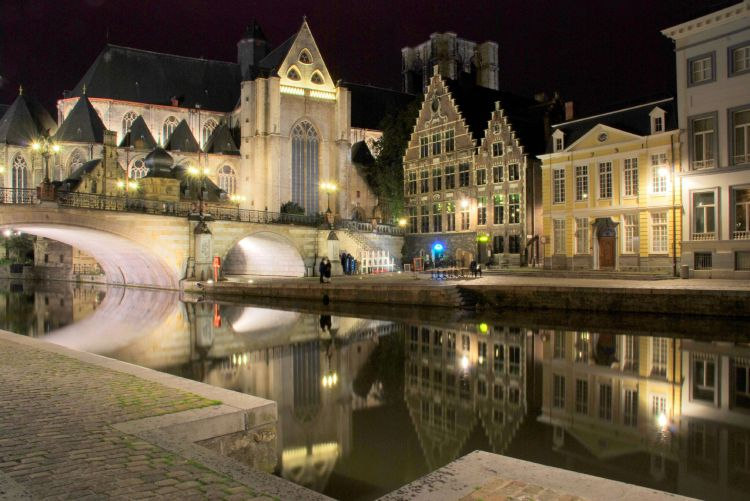 ghent_canal_night